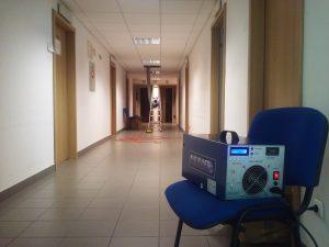 Ozonowanie pomieszczeń