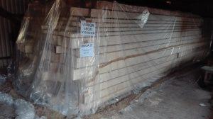 Fumigacja drewna